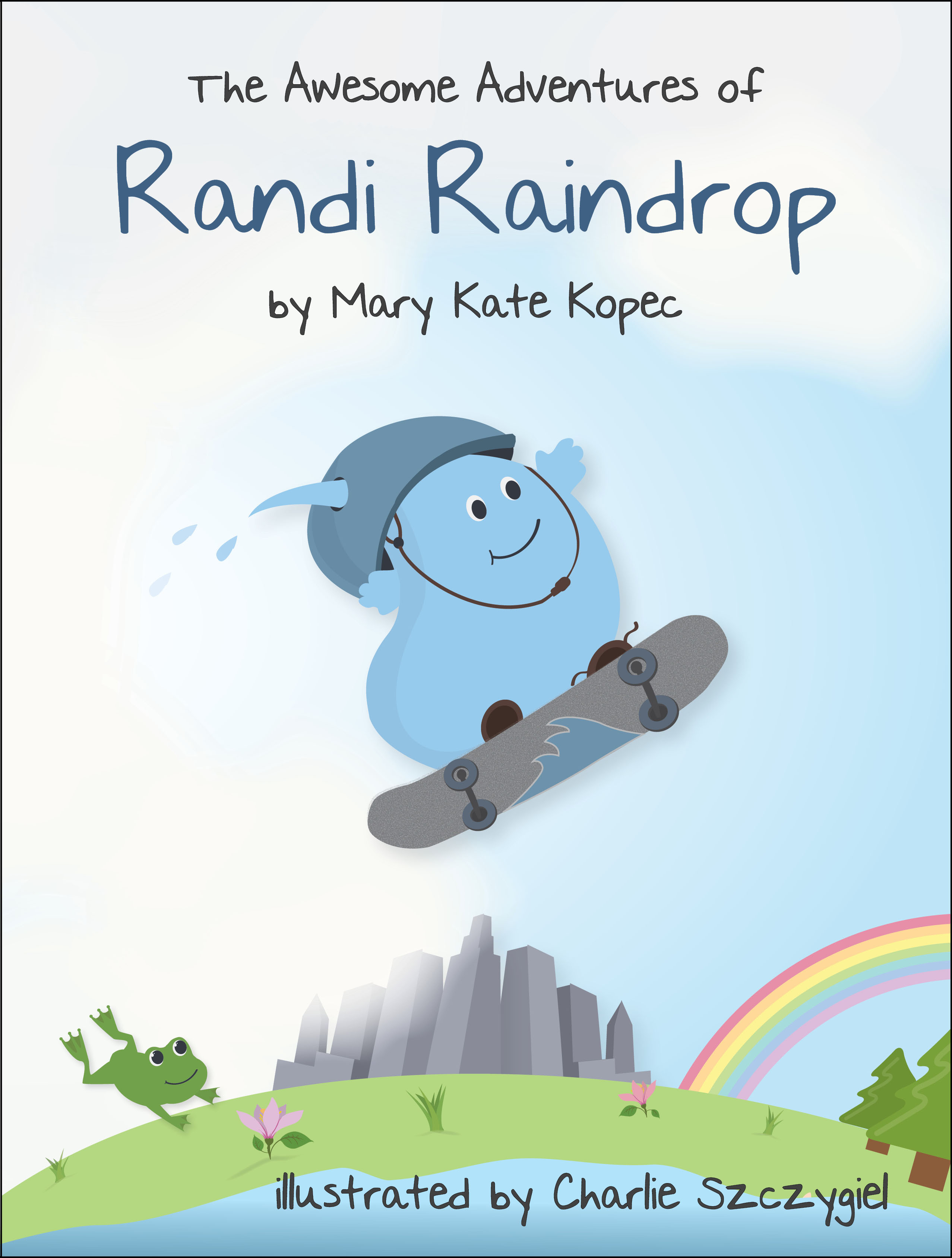 The Awesome Adventures of Randi Raindrop book cover