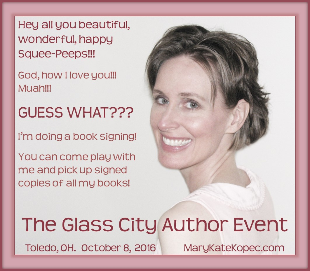 Mary Kate Kopec at 2016 Glass City Author Event