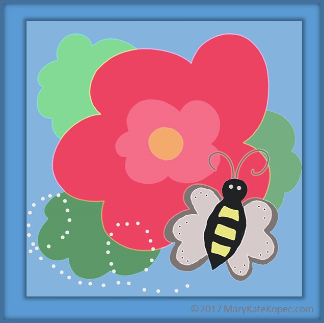 Busy SQUEE Bee Mary Kate Kopec