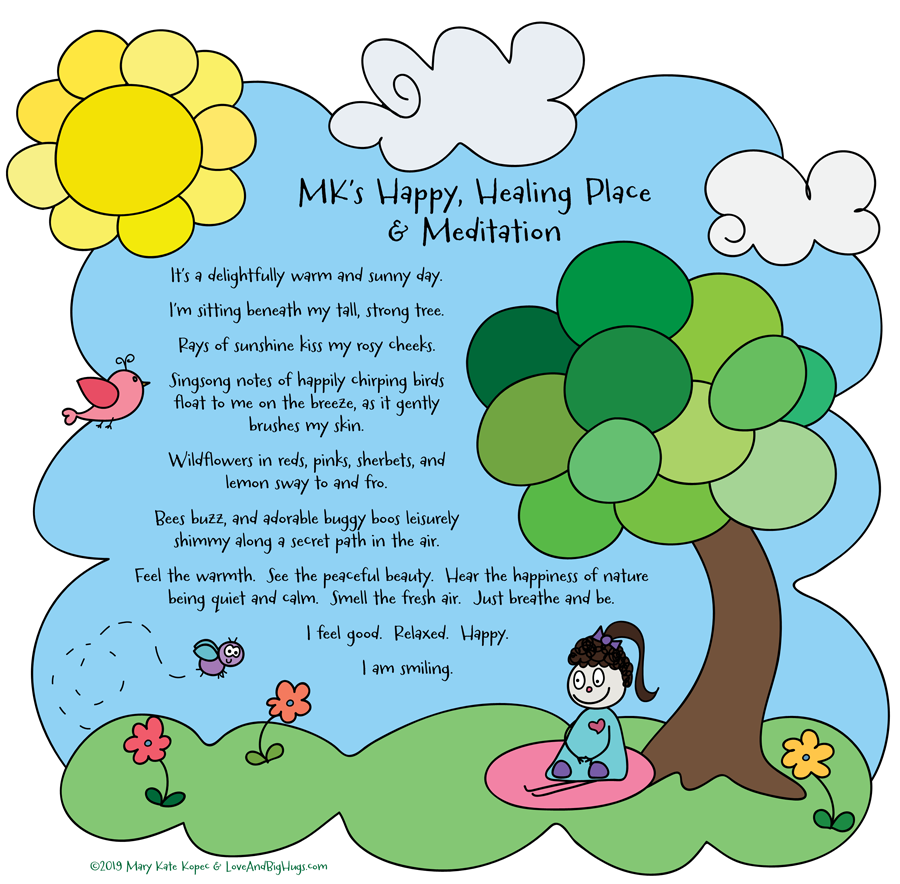 Create your very own happy healing place toolbox of goodness. Mary Kate Kopec.  Love and Big Hugs