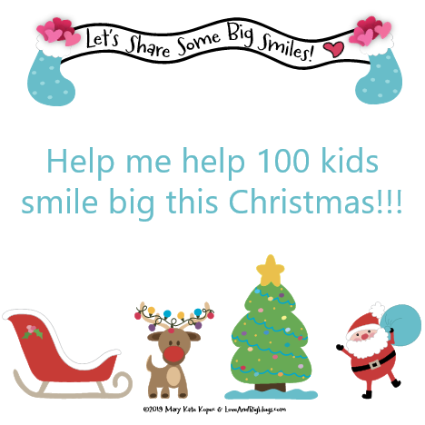 100 Books - 100 Happy, Smiling Kids! Lub's Very Happy Day! Holiday Donation Book Drive. Mary Kate Kopec. Love and Big Hugs.