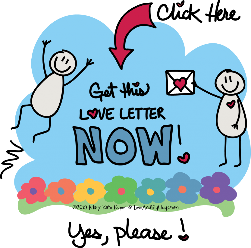 MKs Be Kind to You Interactive Self Care Love Letter to You Get Now button