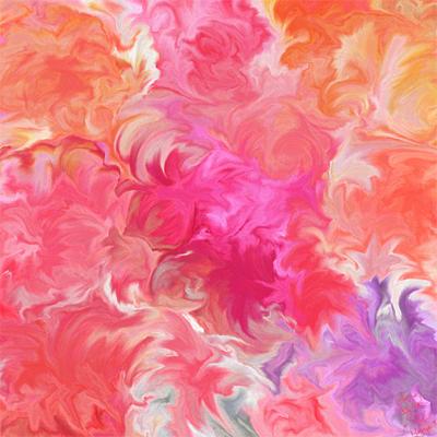 Be POSitive digital print art Mary Kate Kopec