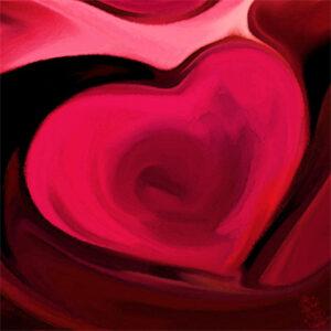 Love! Digital Print. Mary Kate Kopec