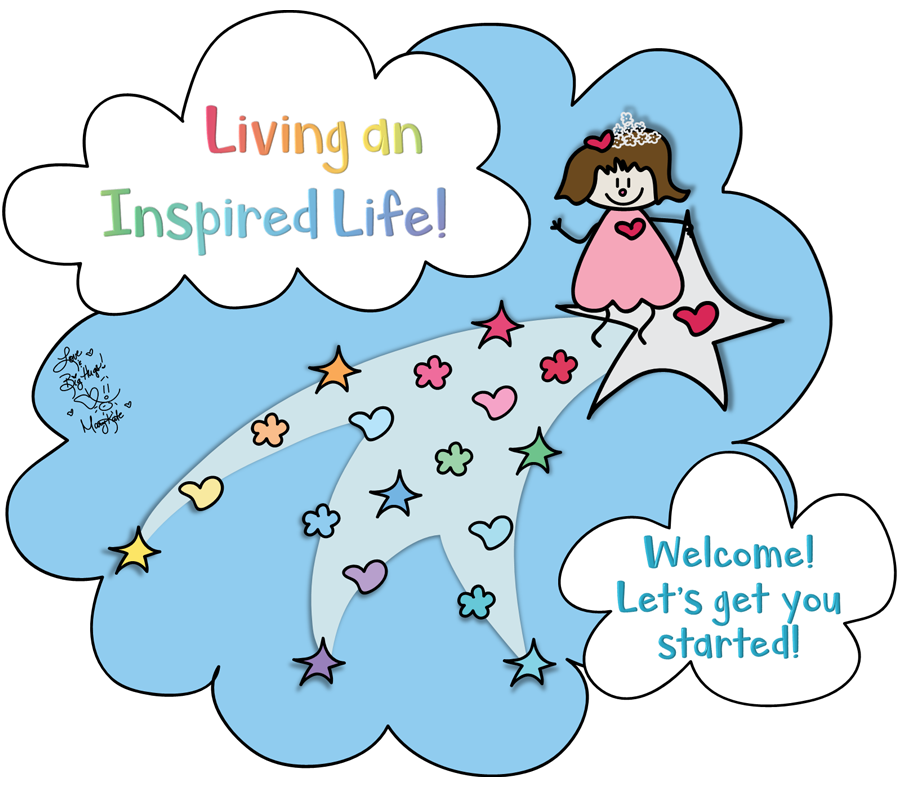 Live an Inspired Life! Mary Kate Kopec. Love and Big Hugs!